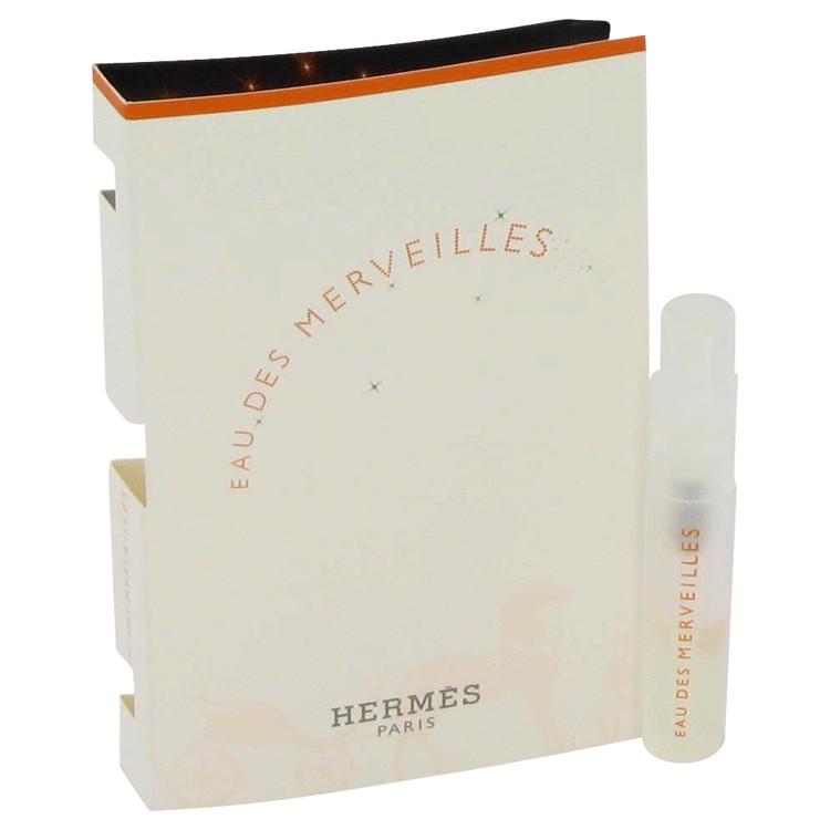 Eau Des Merveilles by Hermes for Women Vial (sample) .05 oz