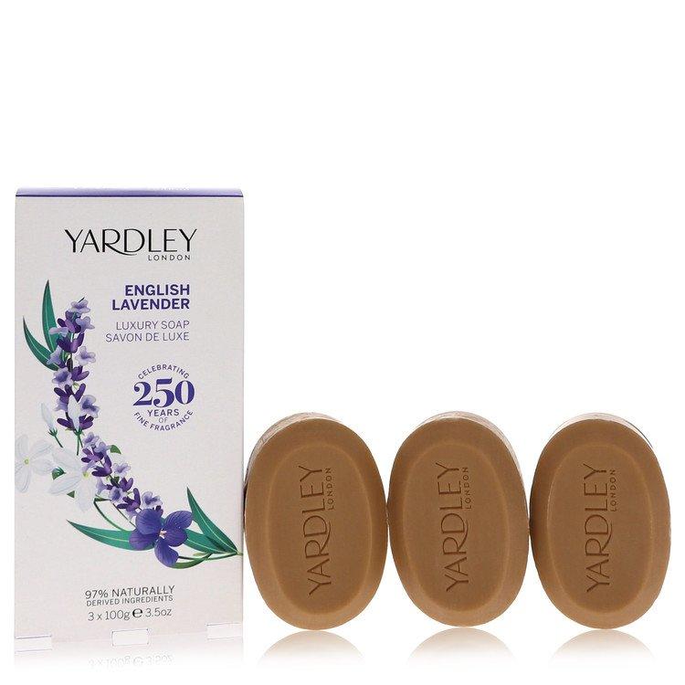 English Lavender by Yardley London for Women 3 x 3.5 oz Soap 3.5 oz
