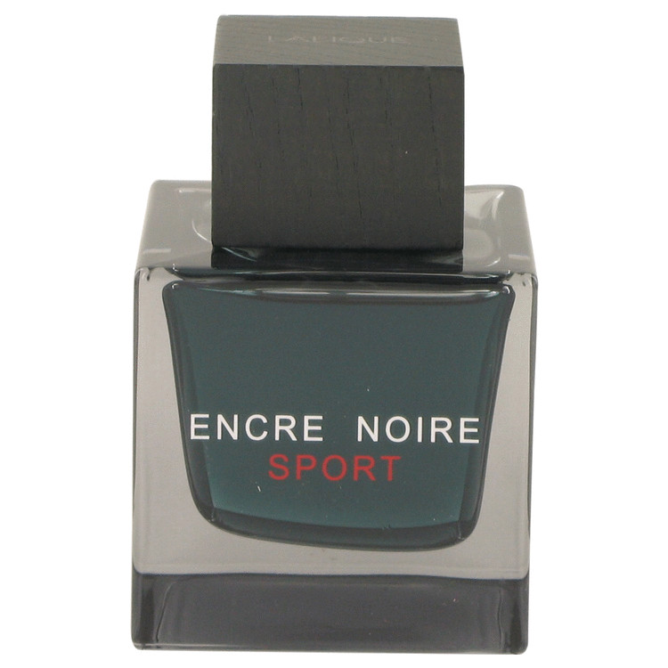 Encre Noire Sport by Lalique for Men Eau De Toilette Spray (Tester) 3.3 oz