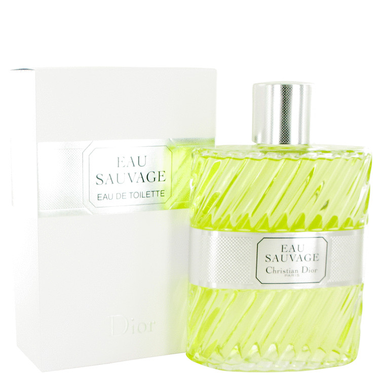 EAU SAUVAGE by Christian Dior for Men Eau De Toilette 33.8 oz