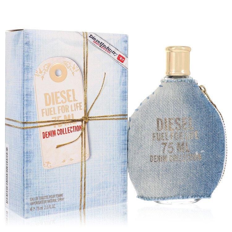Fuel For Life Denim by Diesel for Women Eau De Toilette Spray 2.5 oz