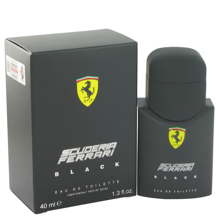 Ferrari Scuderia Black by Ferrari for Men Eau DeToilette Spray 1.3 oz