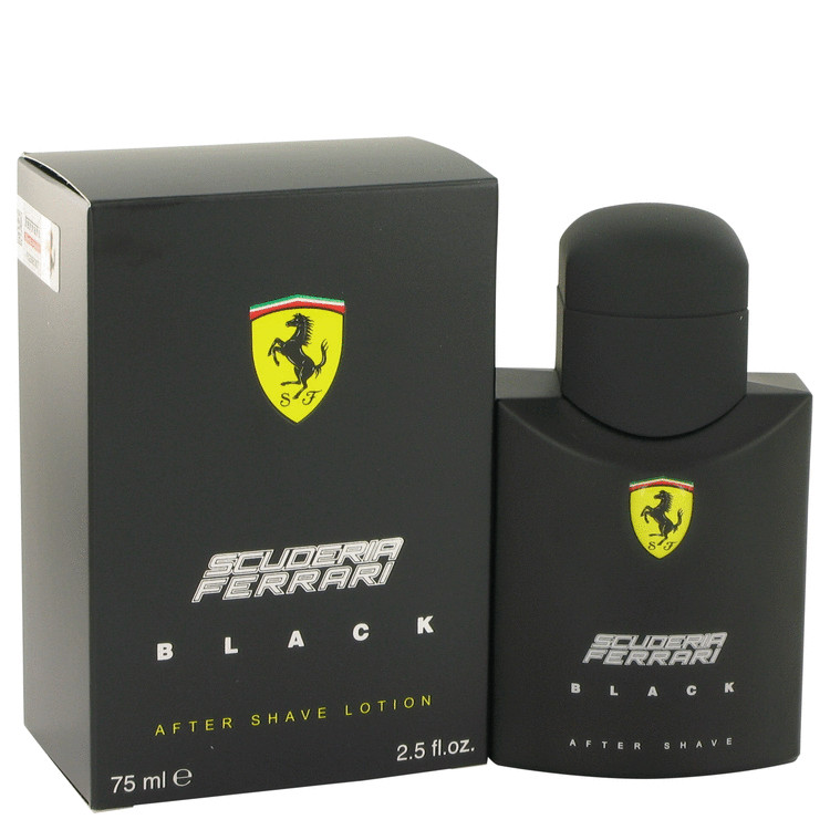 Ferrari Scuderia Black by Ferrari for Men After Shave 2.5 oz
