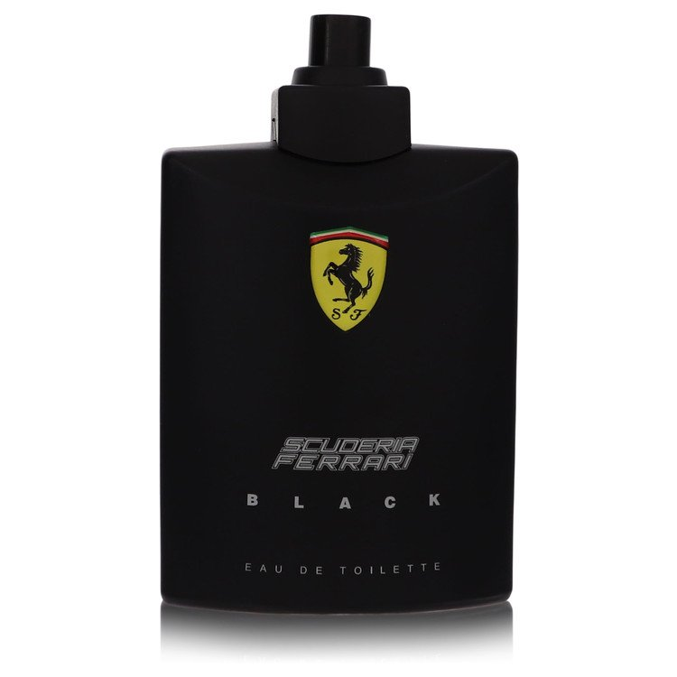 Ferrari Scuderia Black by Ferrari for Men Eau De Toilette Spray (Tester) 4.2 oz