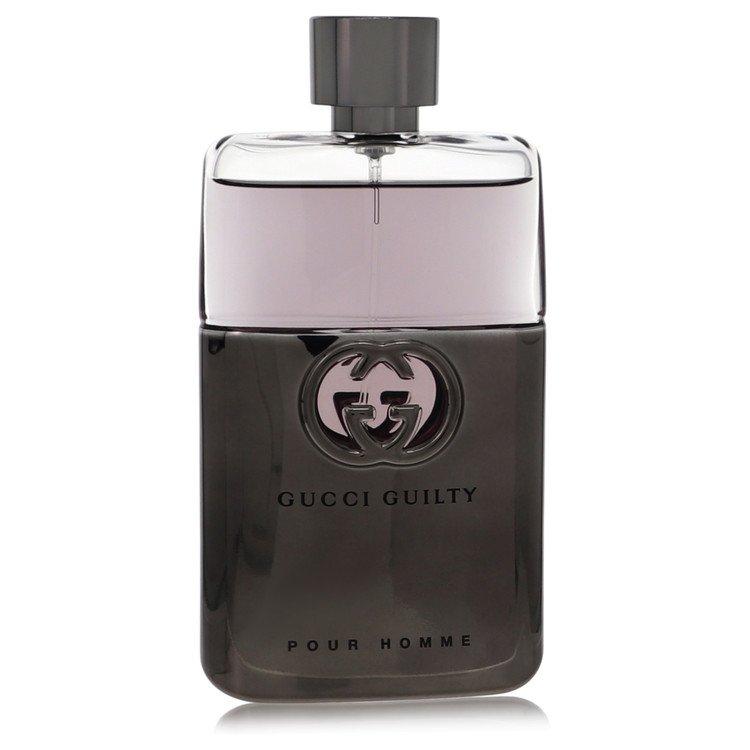 Gucci Guilty by Gucci for Men Eau De Toilette Spray (Tester) 3 oz