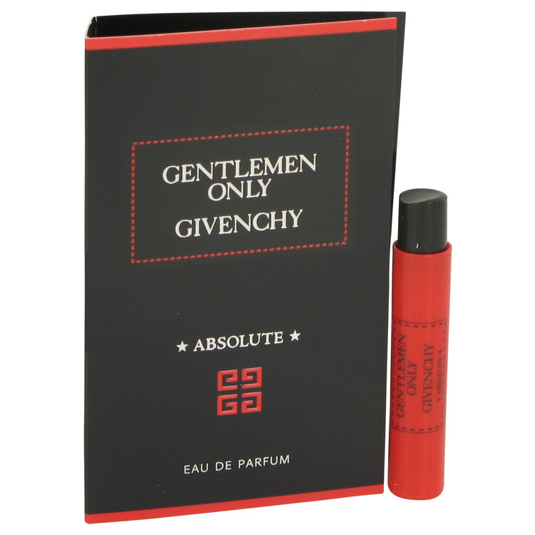 Gentlemen Only Absolute by Givenchy for Men Vial (sample) .03 oz