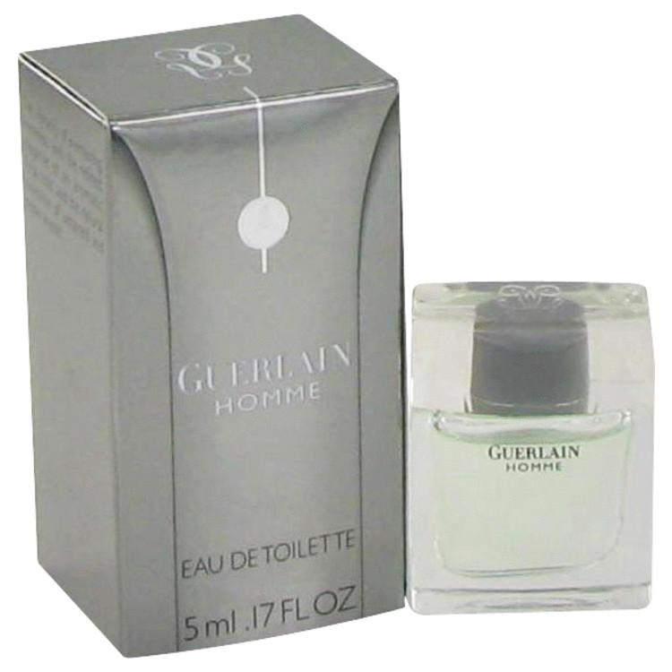 Guerlain Homme by Guerlain for Men Mini EDT .17 oz
