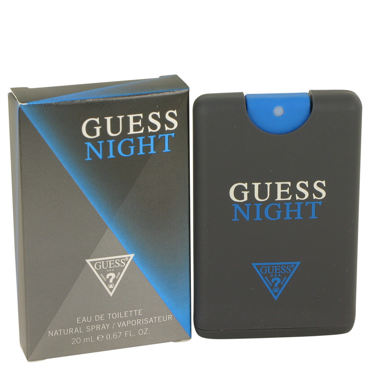 Guess Night by Guess for Men Mini EDT Spray .67 oz