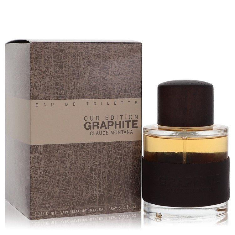 Graphite Oud Edition by Montana for Men Eau De Toilette Spray 3.3 oz