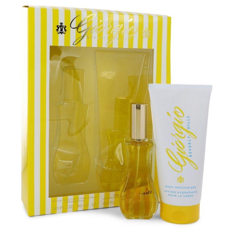 GIORGIO by Giorgio Beverly Hills for Women Gift Set -- 3 oz Eau De Toilette Spray + 6.8 oz Body Lotion