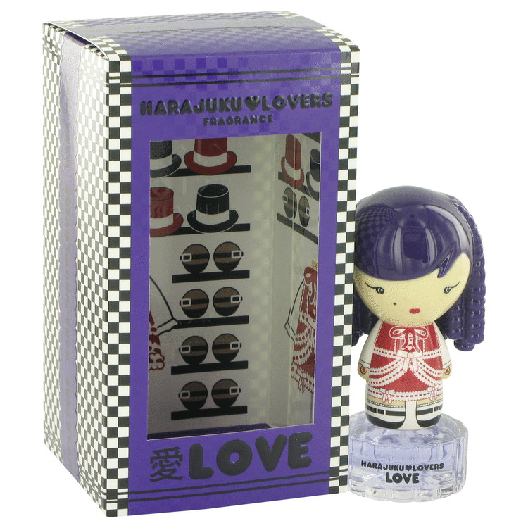 Harajuku Lovers Wicked Style Love by Gwen Stefani for Women Eau De Toilette Spray .33 oz
