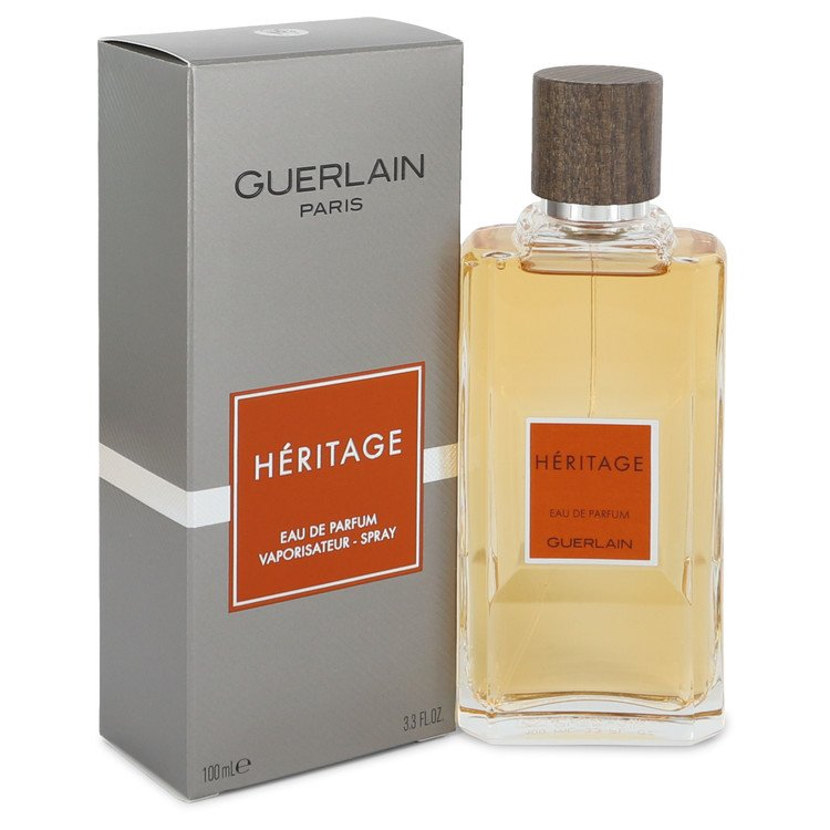 HERITAGE by Guerlain for Men Eau De Parfum Spray 3.4 oz