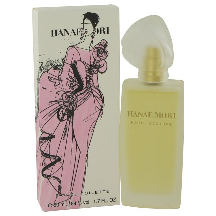 Hanae Mori Haute Couture by Hanae Mori for Women Eau De Toilette Spray 1.7 oz