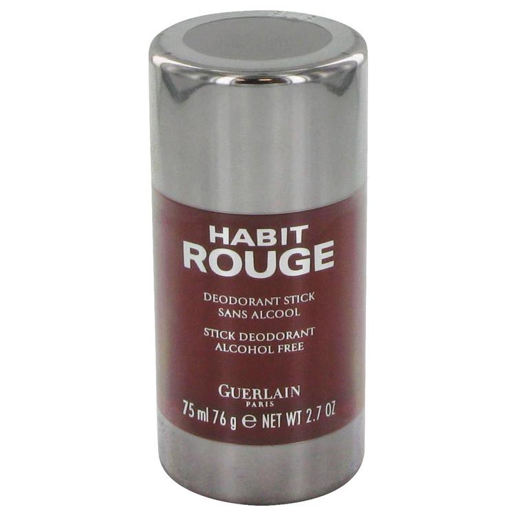 HABIT ROUGE by Guerlain for Men Deodorant Stick 2.5 oz