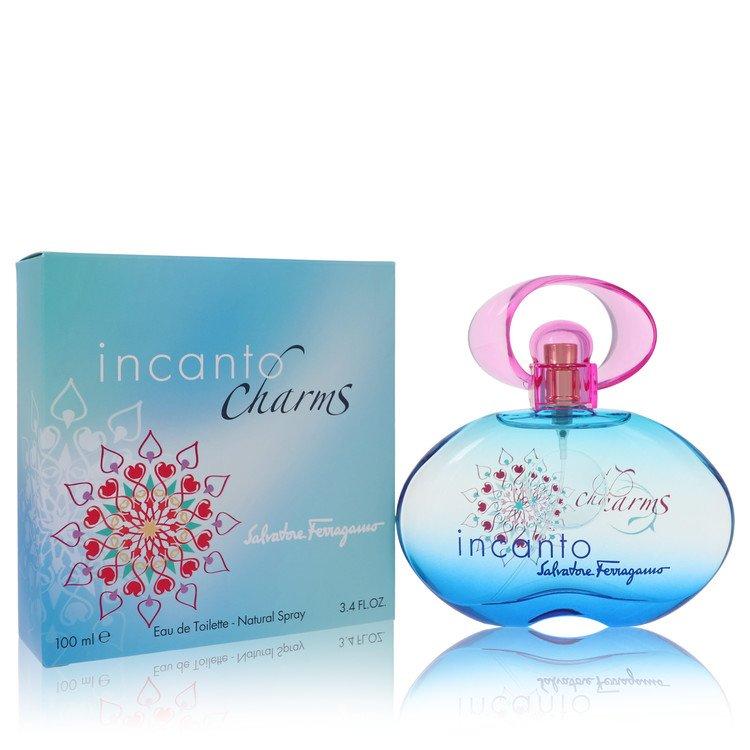 Incanto Charms by Salvatore Ferragamo for Women Eau De Toilette Spray 3.4 oz