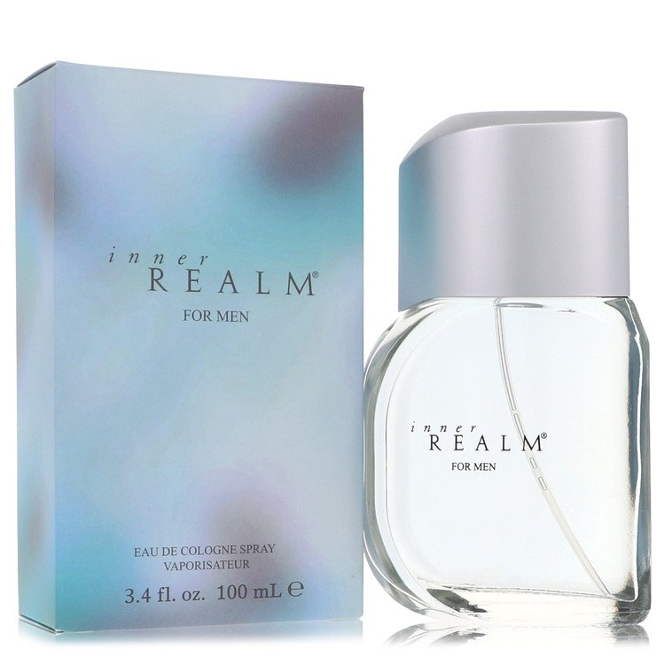 Inner Realm by Erox for Men Eau De Cologne Spray (New Packaging) 3.4 oz