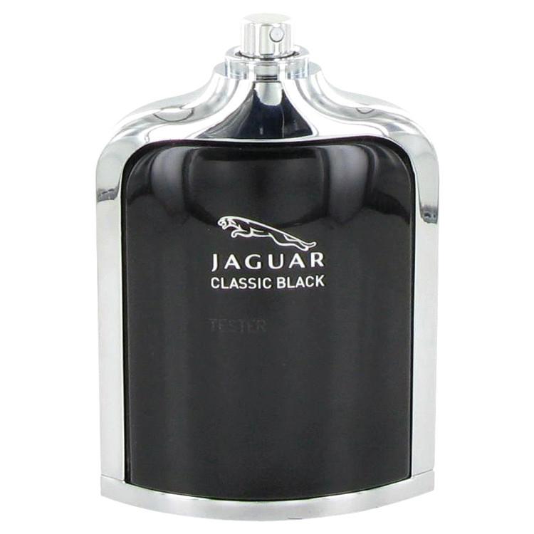 Jaguar Classic Black by Jaguar for Men Eau De Toilette Spray (Tester) 3.4 oz