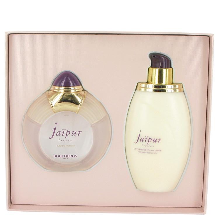 Jaipur Bracelet by Boucheron for Women Gift Set -- 3.3 oz Eau De Parfum Spray + 6.7 oz Body Lotion