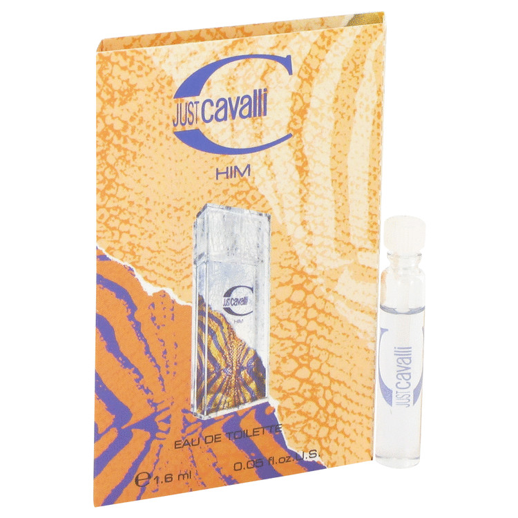 Just Cavalli by Roberto Cavalli for Men Vial (sample) .05 oz