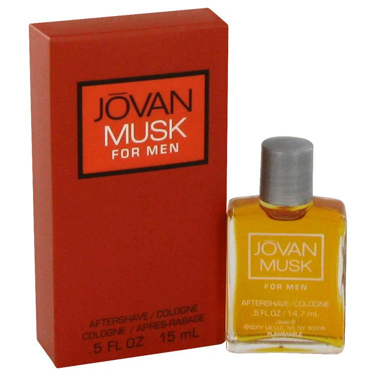 JOVAN MUSK by Jovan for Men Aftershave/Cologne .5 oz