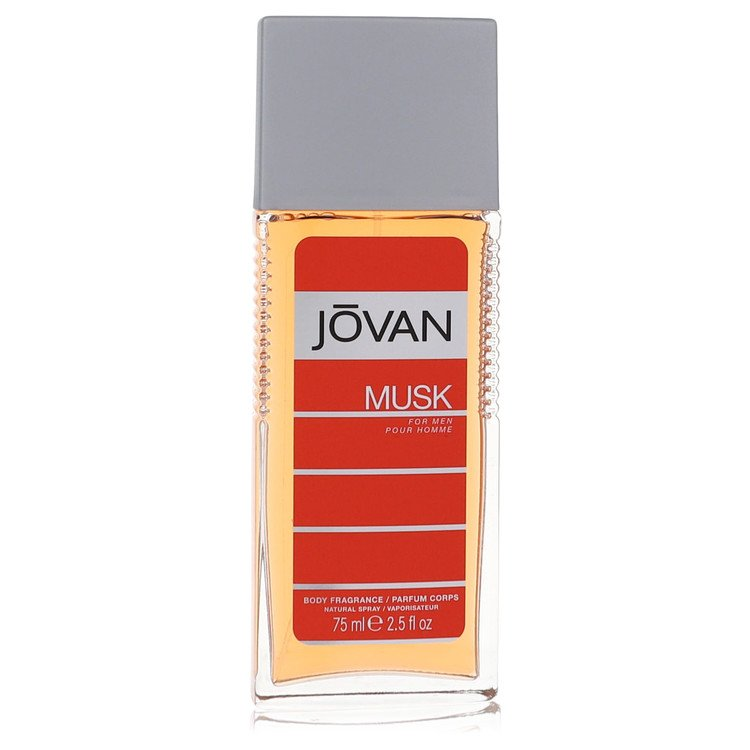 JOVAN MUSK by Jovan for Men Body Spray 2.5 oz