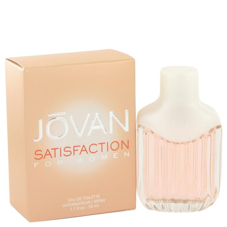 Jovan Satisfaction by Jovan for Women Eau De Toilette Spray 1.7 oz