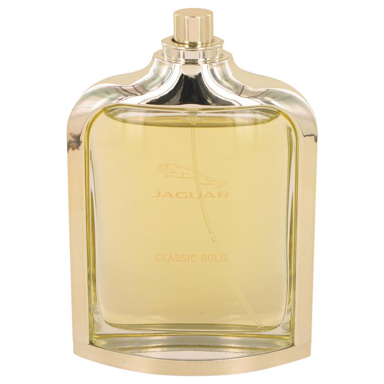 Jaguar Classic Gold by Jaguar for Men Eau De Toilette Spray (Tester) 3.3 oz