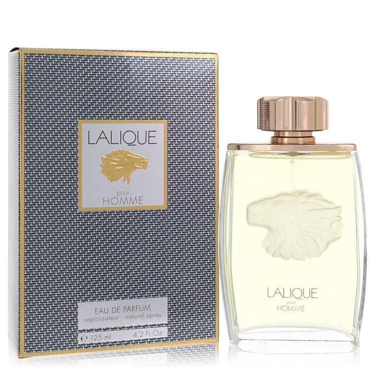 LALIQUE by Lalique for Men Eau De Parfum Spray (Lion) 4.2 oz