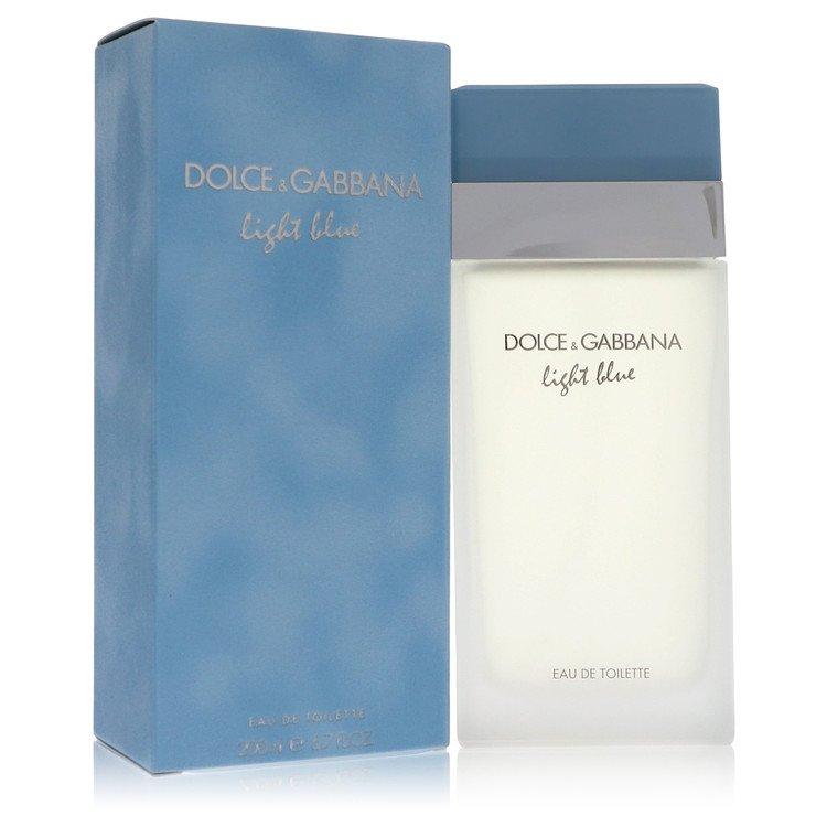 Light Blue by Dolce & Gabbana for Women Eau De Toilette Spray 6.7 oz
