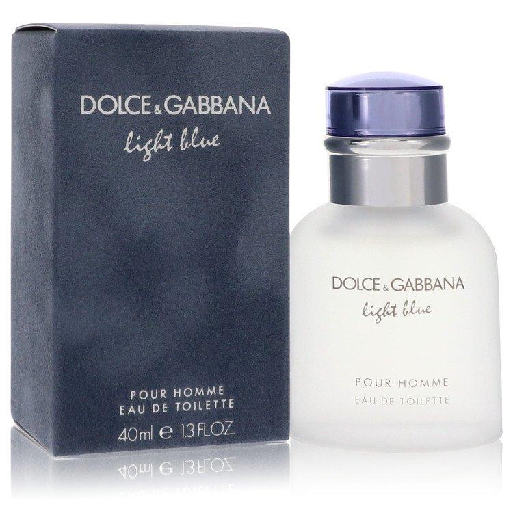 Light Blue by Dolce & Gabbana for Men Eau De Toilette Spray 1.3 oz