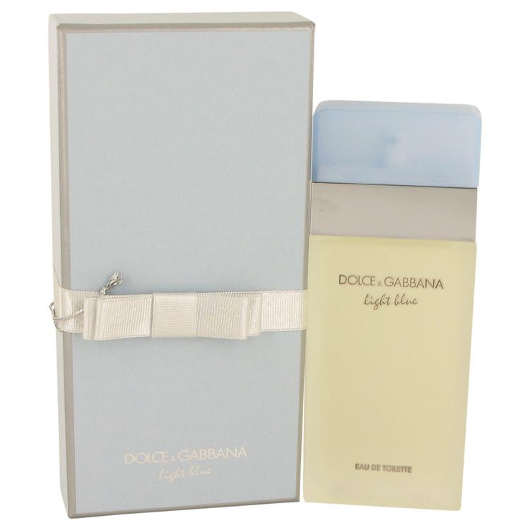 Light Blue by Dolce & Gabbana for Women Eau De Toilette Spray in Gift Box 3.4 oz
