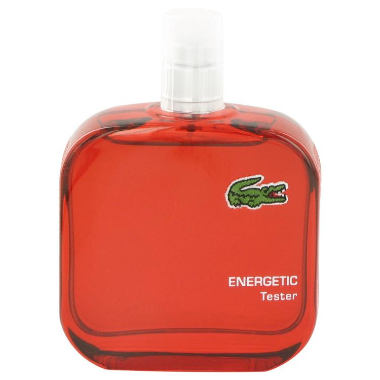 Lacoste Eau De Lacoste L.12.12 Rouge by Lacoste for Men Eau De Toilette Spray (Tester) 3.3 oz