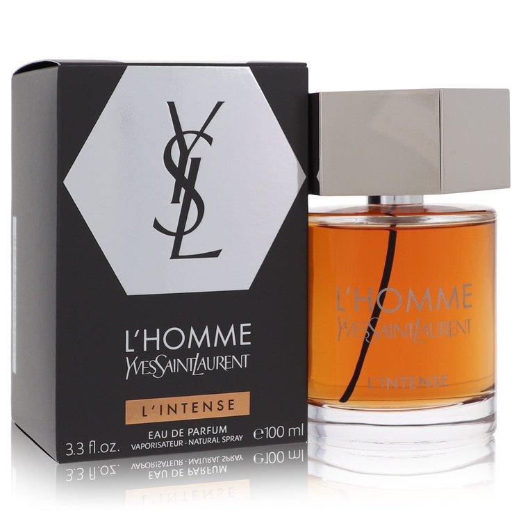 L'homme Intense by Yves Saint Laurent for Men Eau De Parfum Spray 3.3 oz