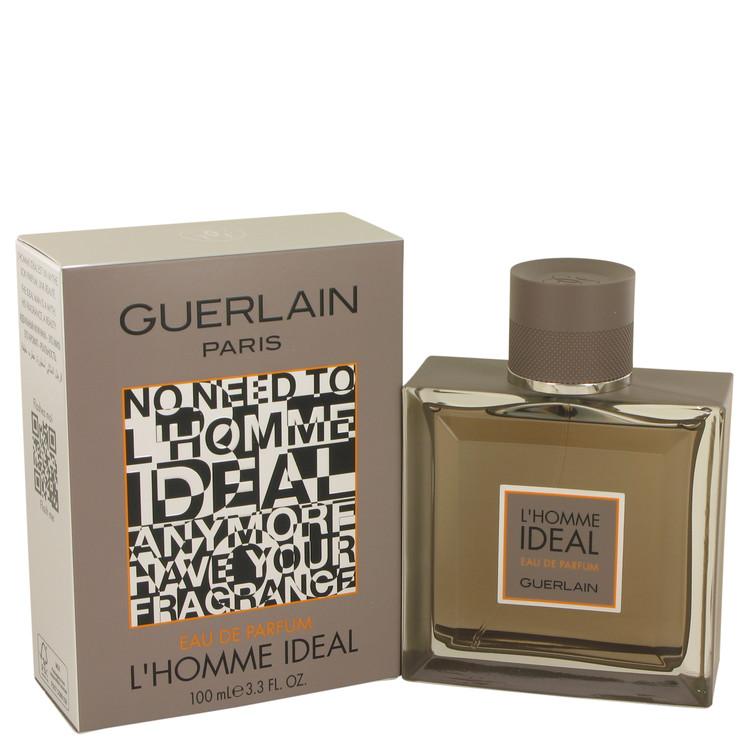 L'homme Ideal by Guerlain for Men Eau De Parfum Spray 3.3 oz