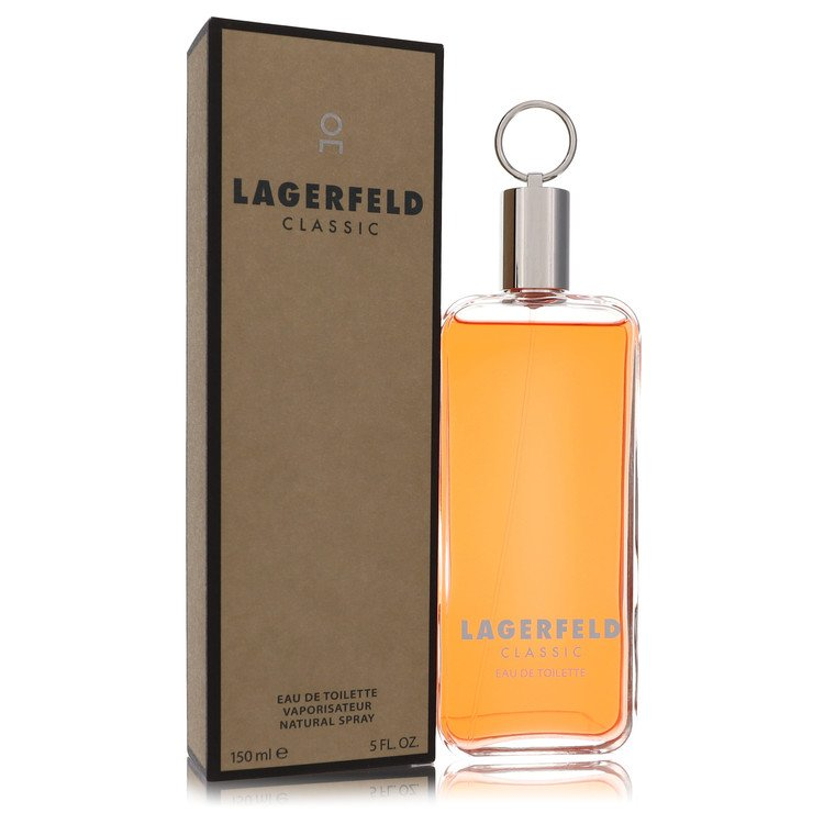 LAGERFELD by Karl Lagerfeld for Men Eau De Toilette Spray 5 oz
