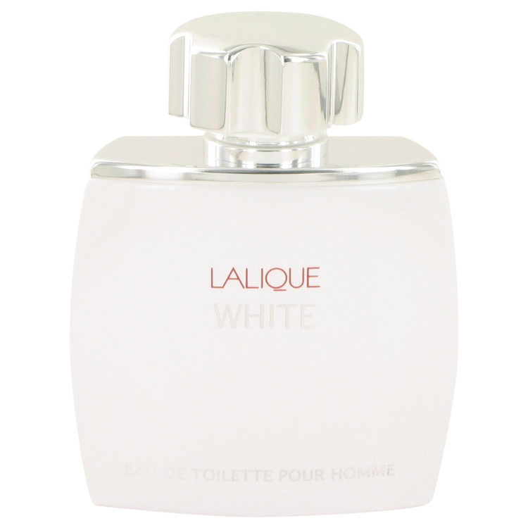 Lalique White by Lalique for Men Eau De Toilette Spray (Tester) 2.5 oz