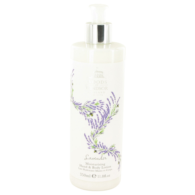 Lavender by Woods of Windsor for Women Hand & Body Lotion 11.8 oz