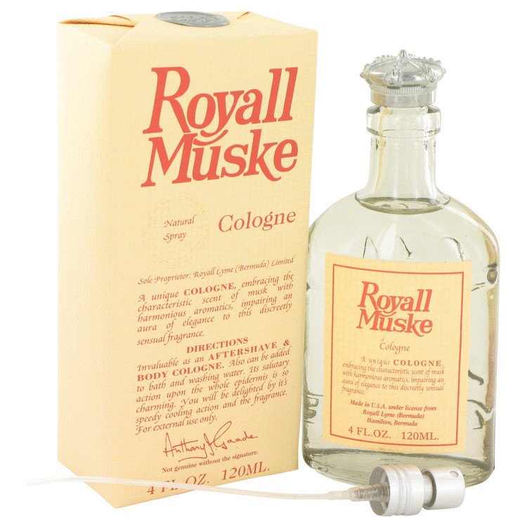 ROYALL MUSKE by Royall Fragrances for Men All Purpose Lotion / Cologne 4 oz