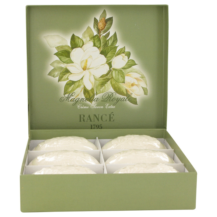 Rance Soaps by Rance for Women Magnolia Royale Soap Box 6 x 3.5 oz