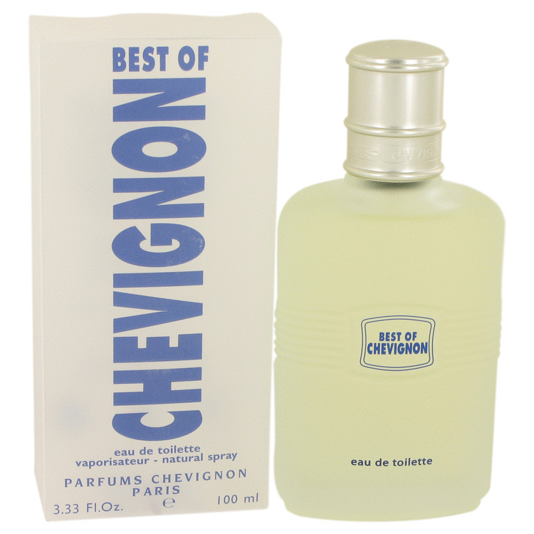 BEST OF CHEVIGNON by Chevignon for Men Eau De Toilette Spray 3.3 oz