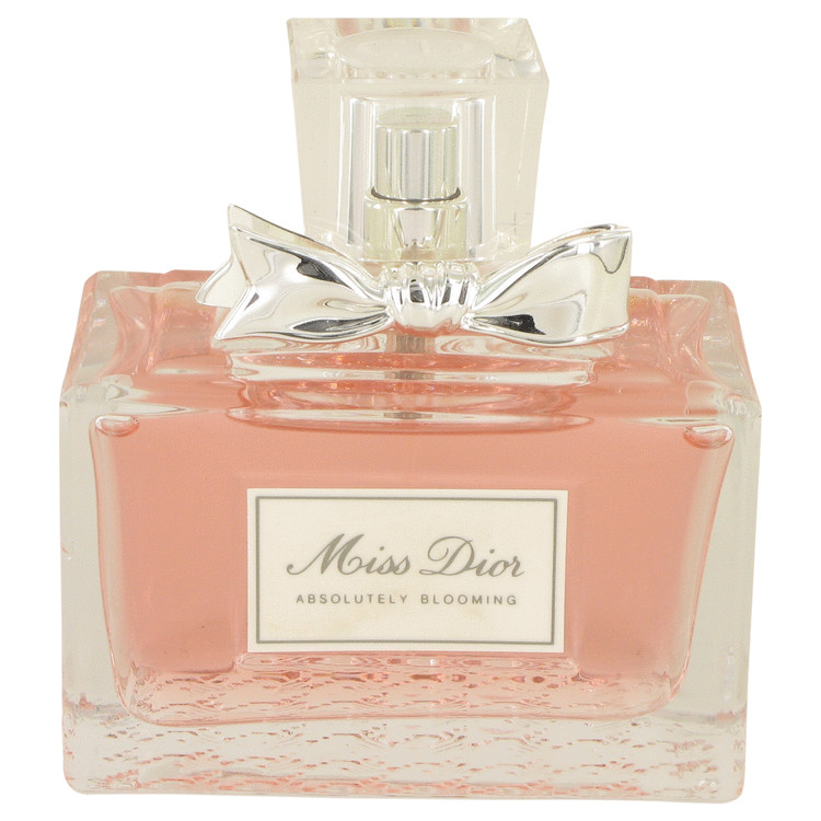 Miss Dior Absolutely Blooming by Christian Dior for Women Eau De Parfum Spray (unboxed) 3.4 oz