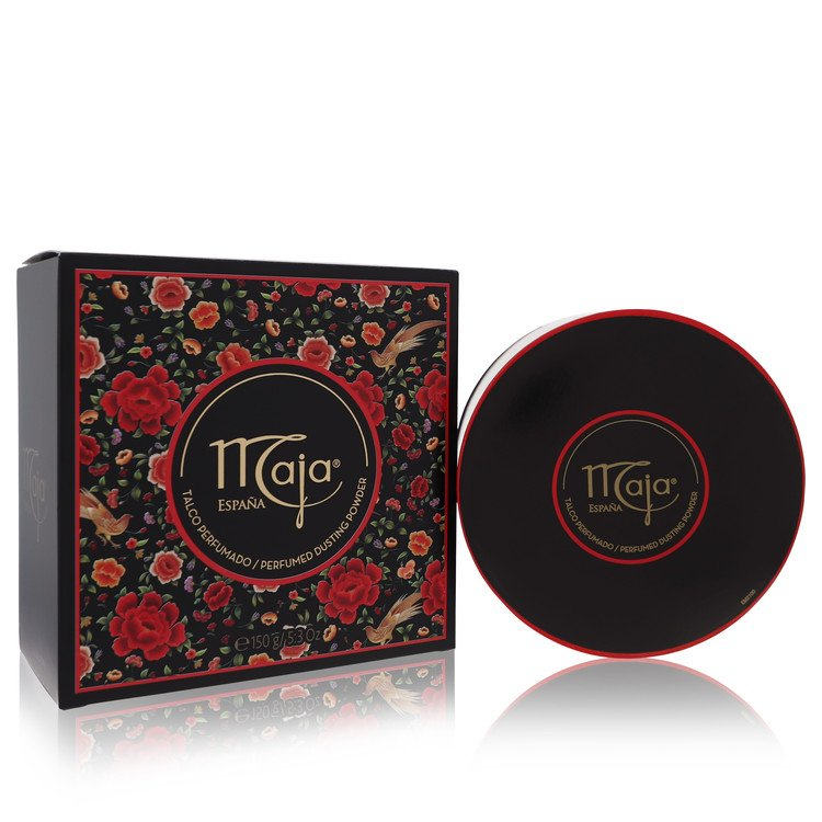 Maja by Myrurgia for Women Dusting Powder/Talc with Puff 5.3 oz