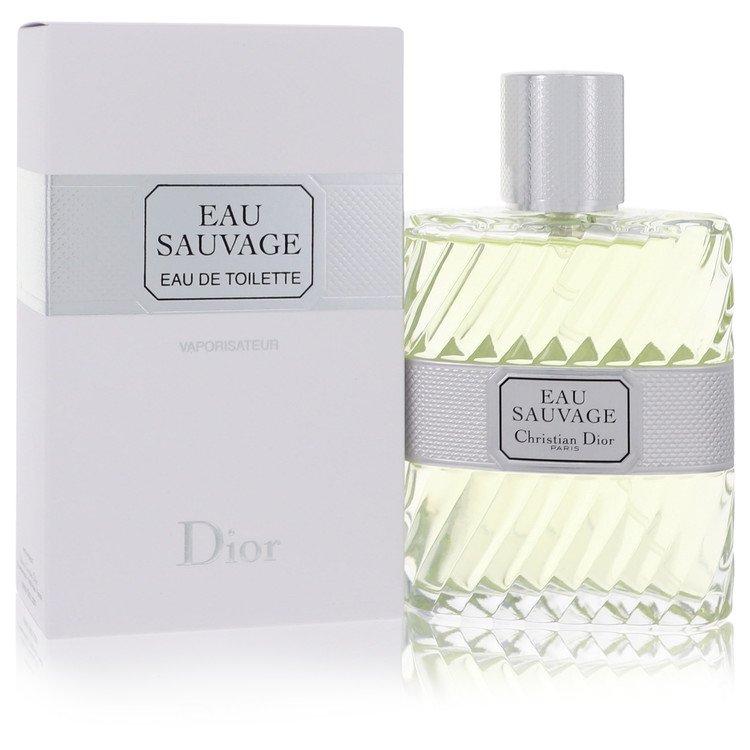 EAU SAUVAGE by Christian Dior for Men Eau De Toilette Spray 3.4 oz