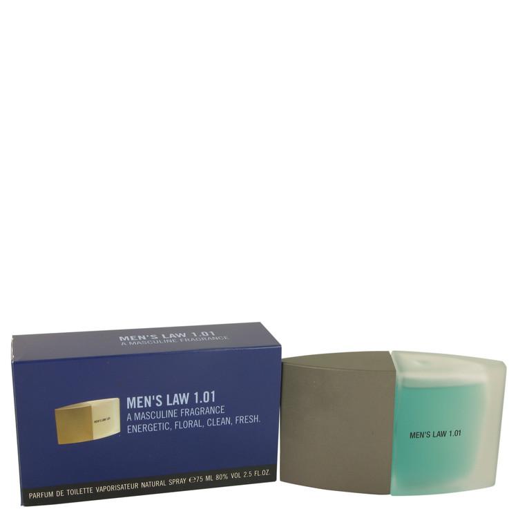 Men's Law by Monceau for Men Eau De Toilette Spray 2.5 oz