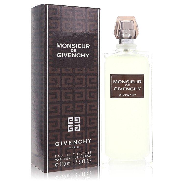 Monsieur Givenchy by Givenchy for Men Eau De Toilette Spray 3.4 oz