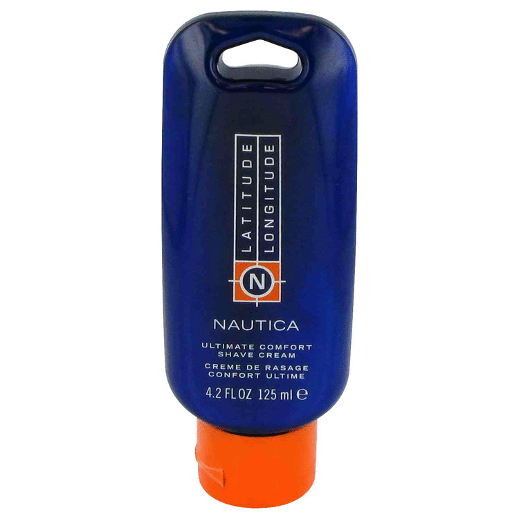 LATITUDE LONGITUDE by Nautica for Men Shave Cream 4.2 oz