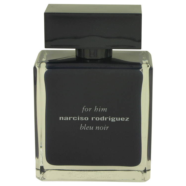 Narciso Rodriguez Bleu Noir by Narciso Rodriguez for Men Eau De Toilette Spray (Tester) 3.4 oz