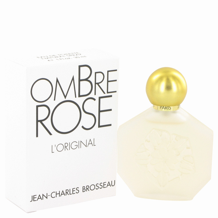 Ombre Rose by Brosseau for Women Eau De Toilette Spray 1 oz