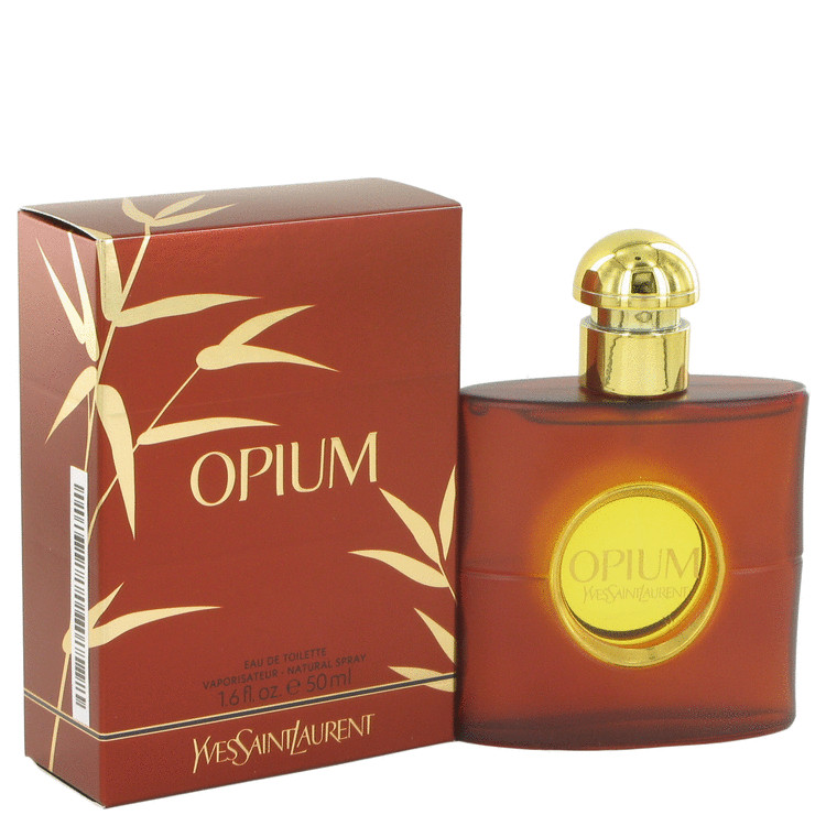 OPIUM by Yves Saint Laurent for Women Eau De Toilette Spray (New Packaging) 1.6 oz