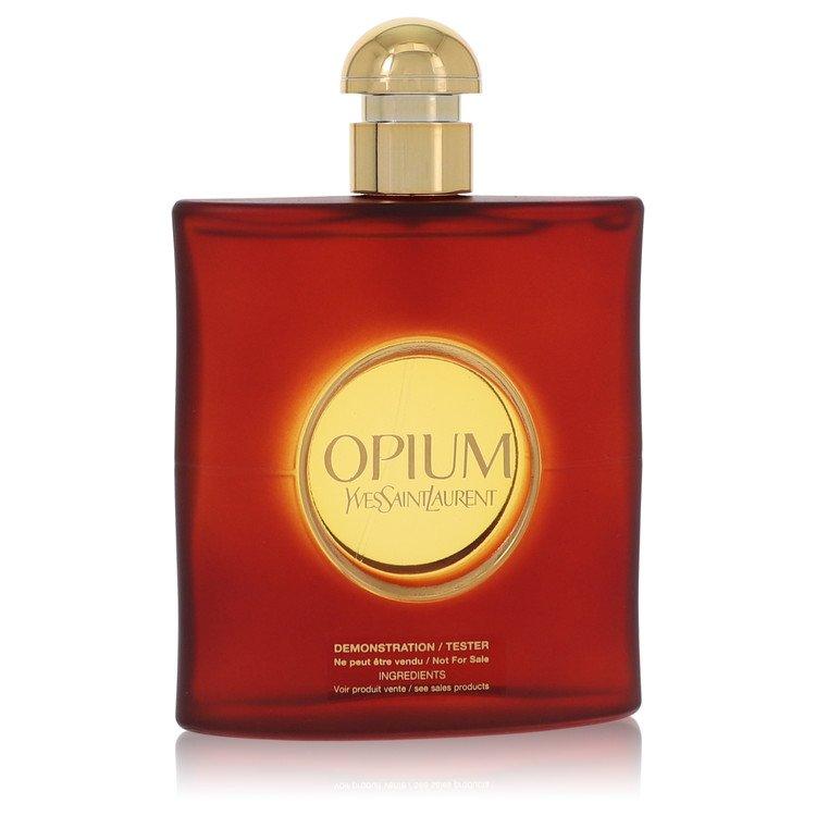 OPIUM by Yves Saint Laurent for Women Eau De Toilette Spray (Tester) 3 oz